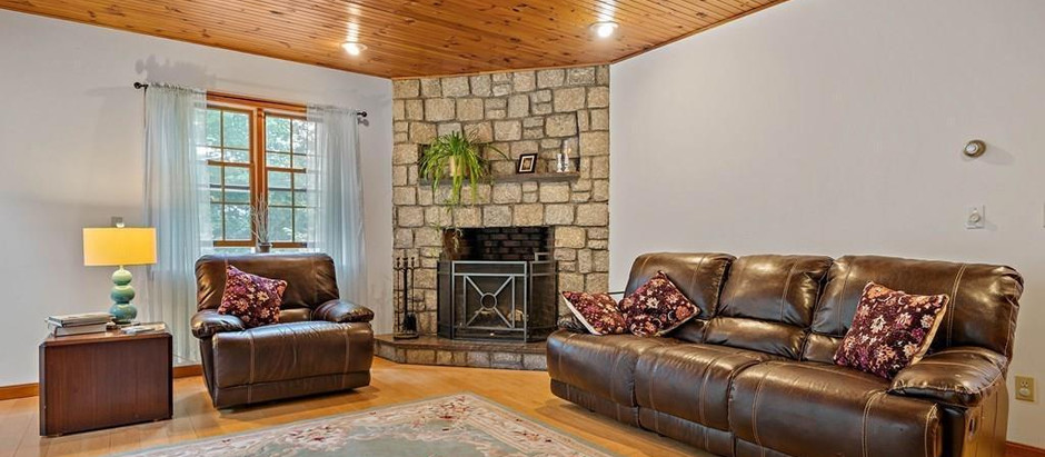 TOP 5 SOUTH SHORE LISTINGS WITH GREAT FIREPLACES