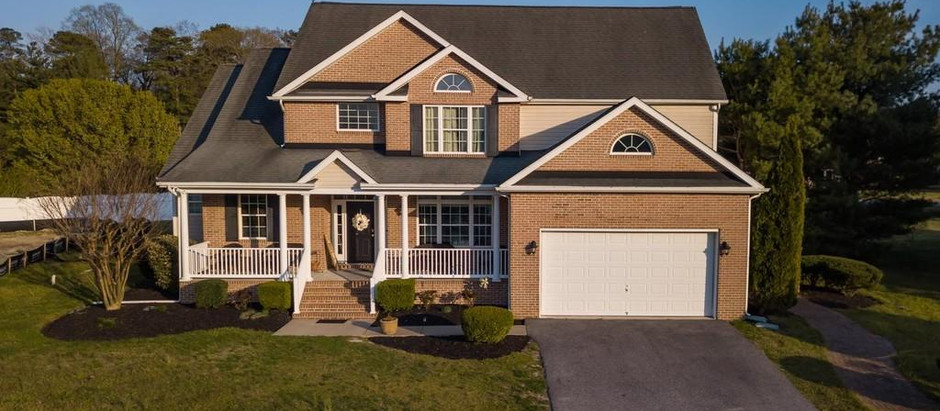 TOP 5 COLONIAL STYLE LISTINGS IN SUSSEX COUNTY
