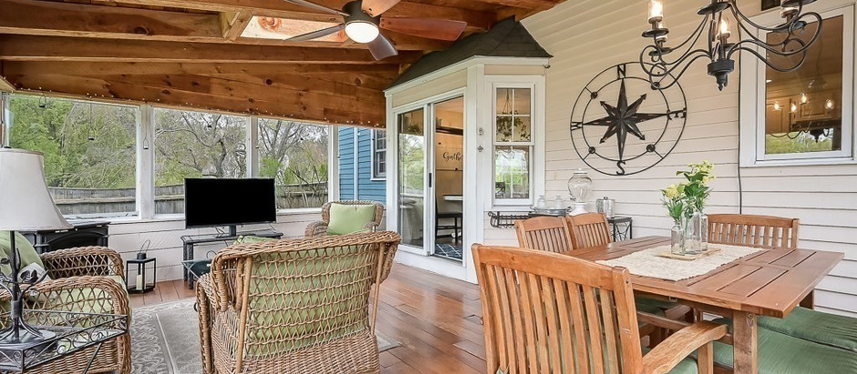 TOP 5 HOMES WITH THREE-SEASON PORCHES
