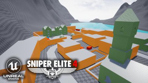 Sniper Elite 4 Map Mockup