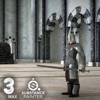 Medieval 3D Scene