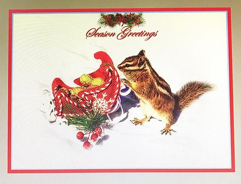 Christmas Chipmunks