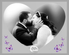heart black and white The Kiss butterflies-1.jpg