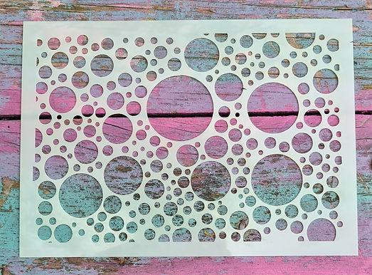 Big Bubbles Stencil