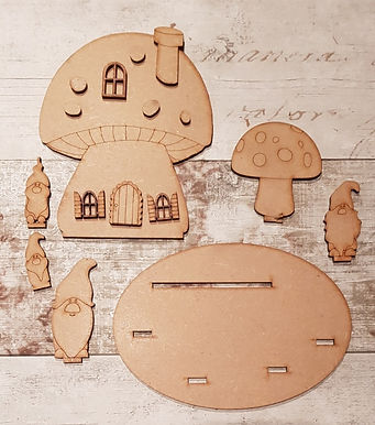 Gnome Toadstool House Kit