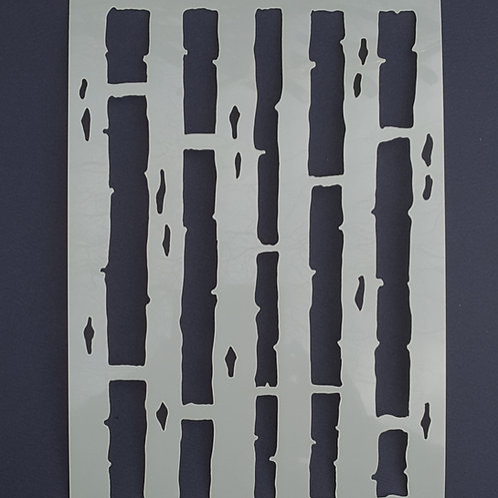 Woodland Stencil 1