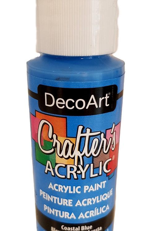 Coastal Blue Acrylic Paint
