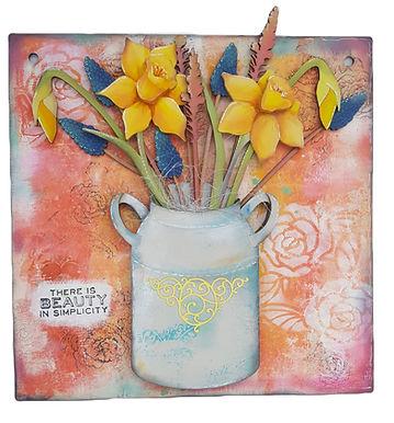 Daffodil Plaque
