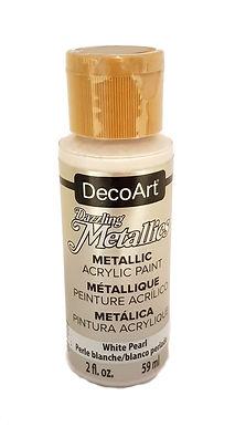 White Pearl Metallics Acrylic Paint