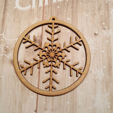 Snowflake Bauble 5