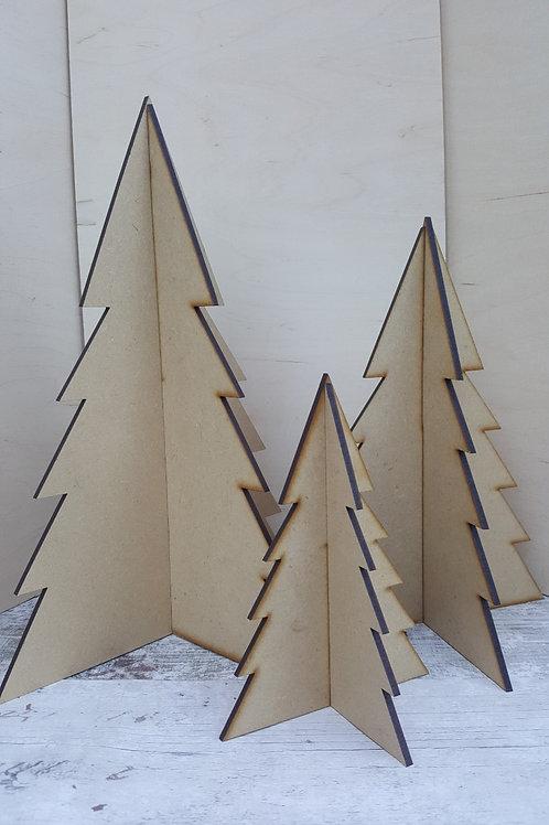 MDF Standalone Xmas Trees
