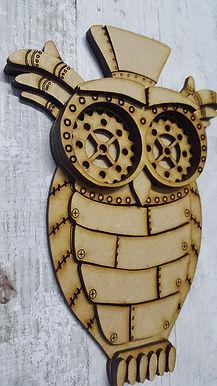 3D Steampunk Owl