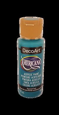 Peacock Teal Americana Acrylic Paint