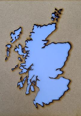 Scotland Cutout