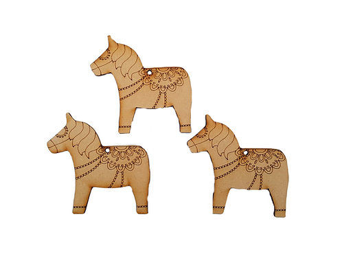 Dala Horse Tags
