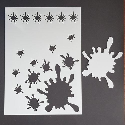 Splat 3 Stencil
