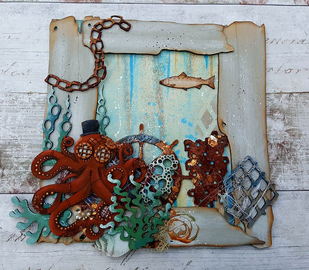 Driftwood Plaque