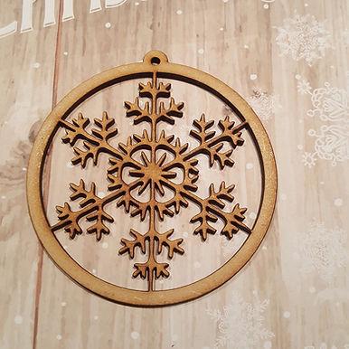 Snowflake Bauble 7