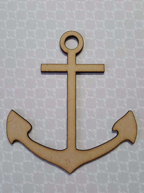 Laser Cut ships anchor in 2 or 3.6mm MDF
