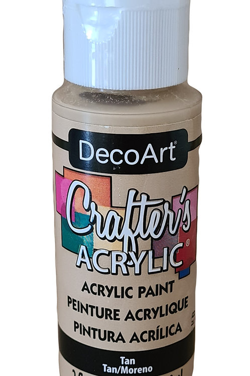 Tan Acrylic Paint