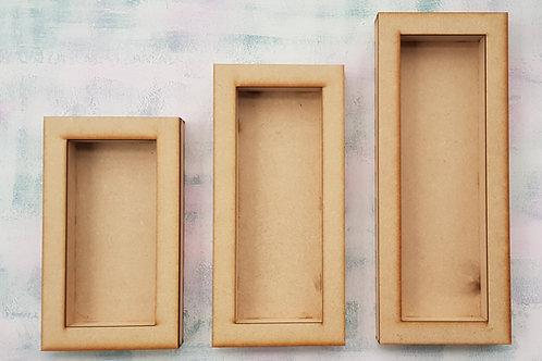 Rectangular Chunky Box Frame