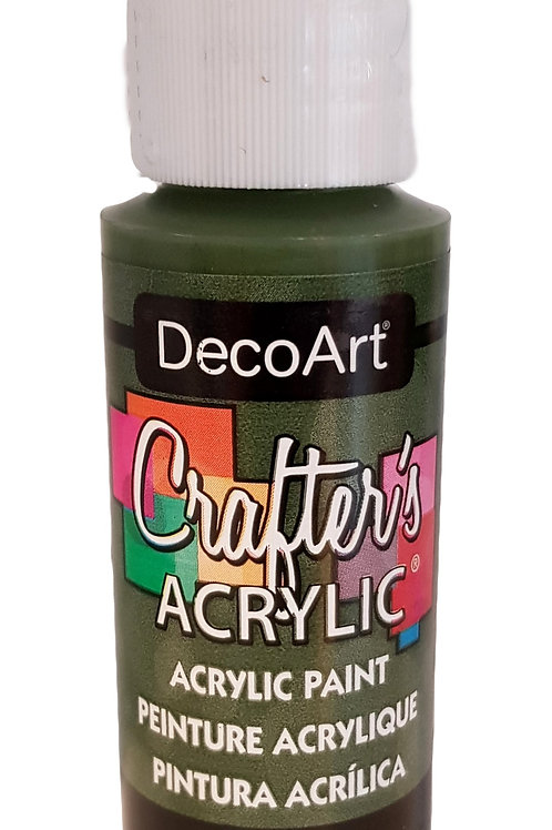 Forest Green Acrylic Paint