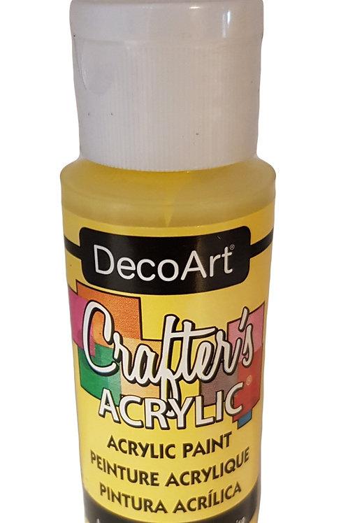Daffodil Yellow Acrylic Paint
