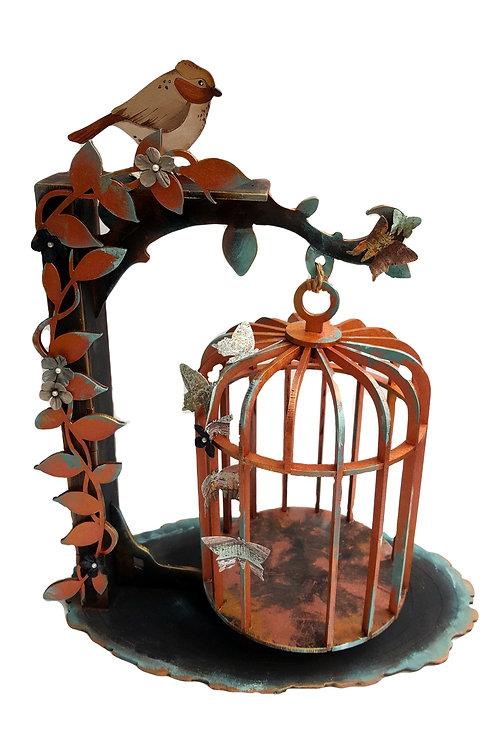 Hanging Birdcage Frame
