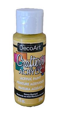 Honey Mustard Acrylic Paint