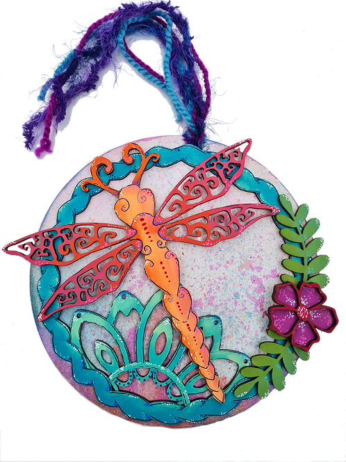 Small Dragonfly Plaque