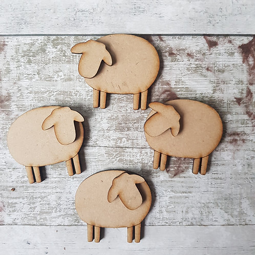 MDF sheep made for craft making