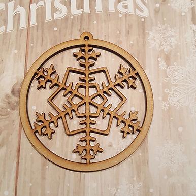 Snowflake Bauble 8