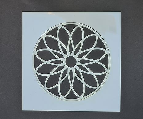 Mandala 1 Stencil