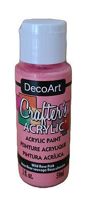 Wild Rose Pink Acrylic Paint
