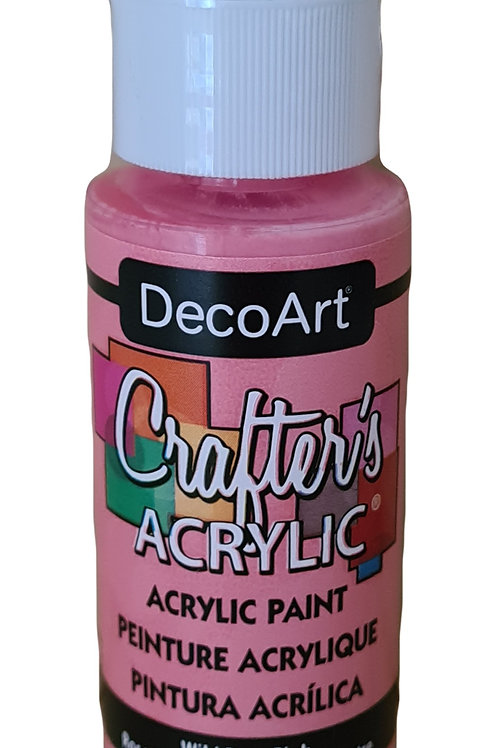 Wild Rose Pink Acrylic Paint
