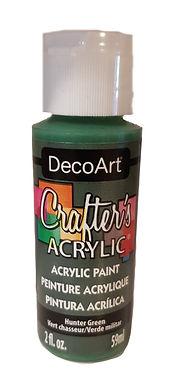 Hunter Green Acrylic Paint