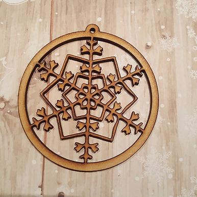 Snowflake Bauble 4