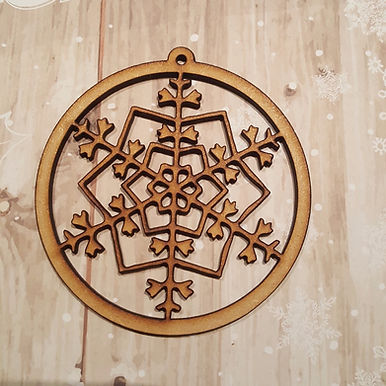 Snowflake Bauble 4