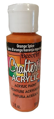 Orange Spice Acrylic Paint