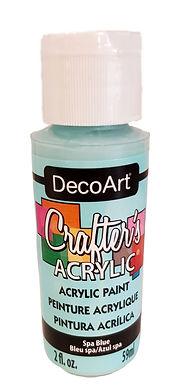 Spa Blue Acrylic Paint