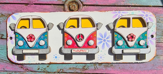 3 Campervan Plaque