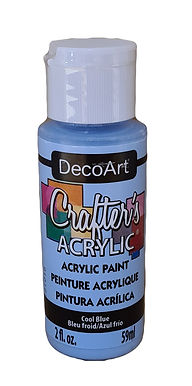 Cool Blue Acrylic Paint