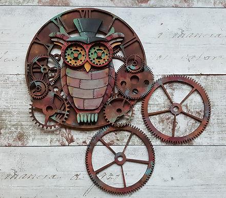 Steampunk Owl Dreamcatcher
