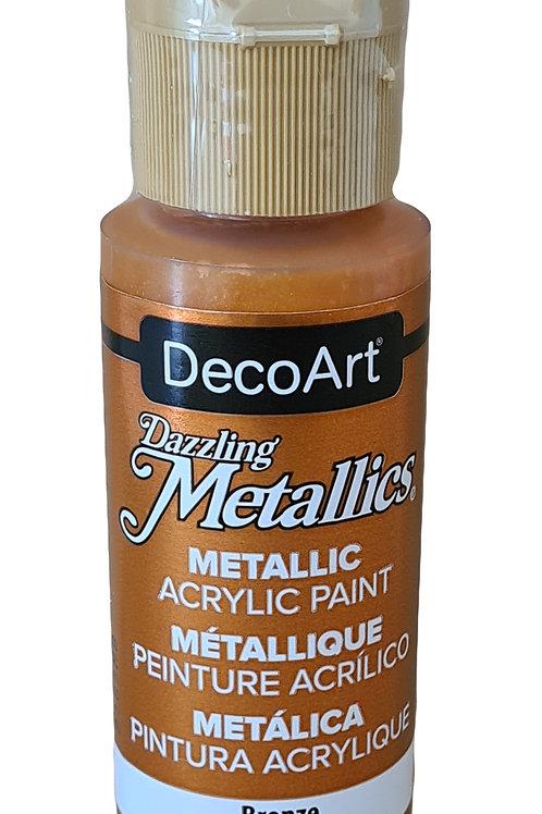 Bright Copper Metallics Acrylic Paint