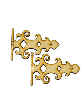 Large Ornamental Hinges