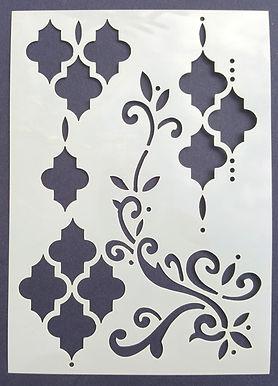 Panel 1 Stencil