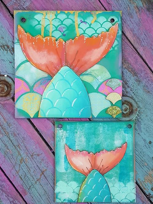 Mermaid Tails Plaques 1