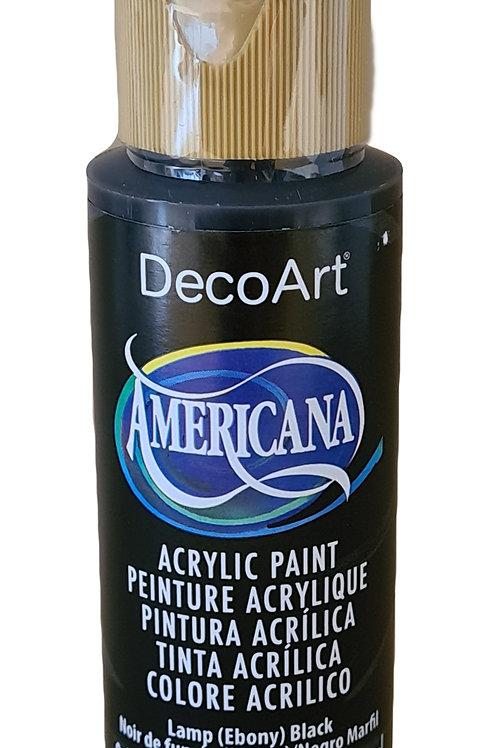 Lamp (Ebony)Americana Acrylic Paint