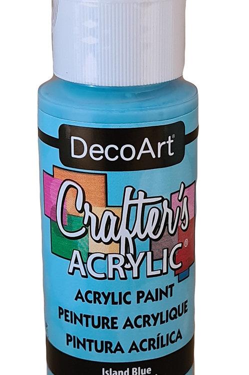 Island Blue Acrylic Paint