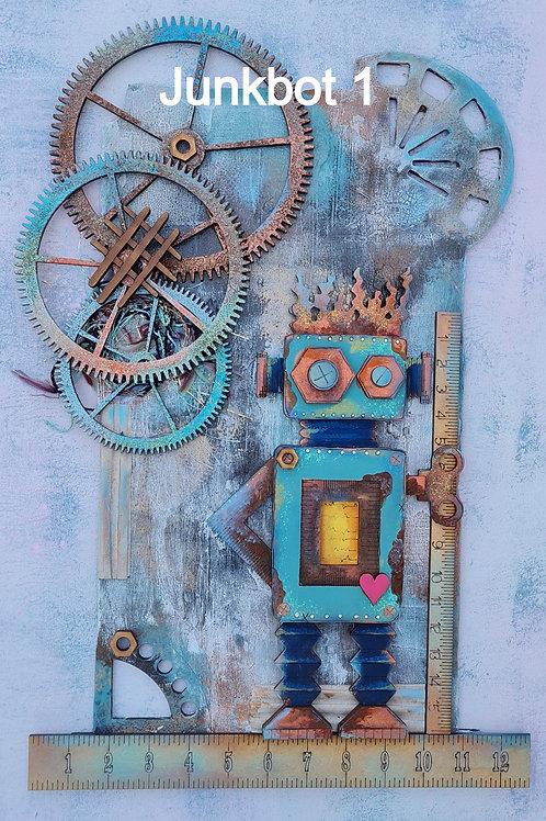 Junkbot Plaques
